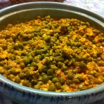 amuslima kitchen moroccan peas and eggs tagine
